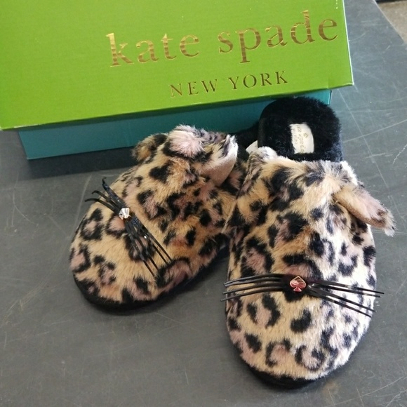 b62b84915659 NWT Kate Spade Belindy Slippers Size 7